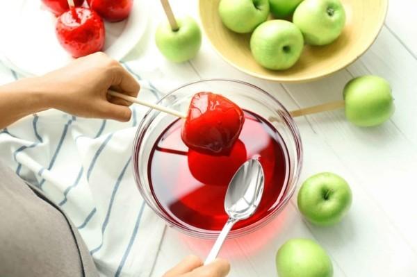 wie kann man kandierte Äpfel selber machen