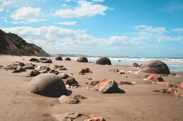 wilder strand ohne steinmännchen