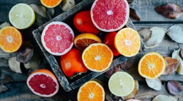 zitrusfrüchte gegen winterdepression