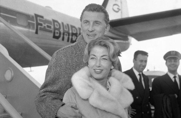 Anna und Kirk Douglas
