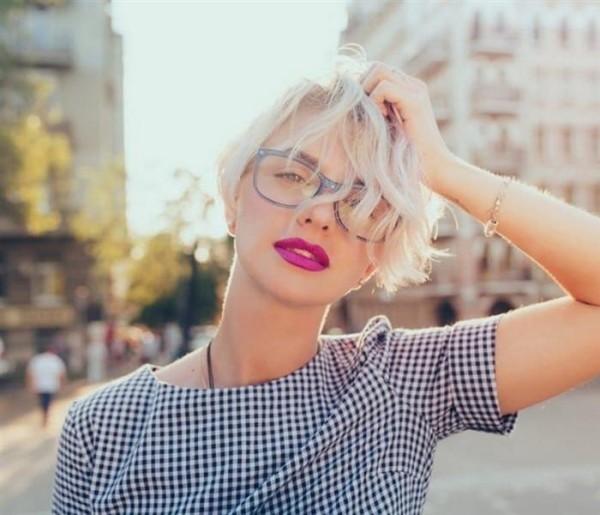 Blonde Frisuren - Trendige Ideen Pixie Frisur