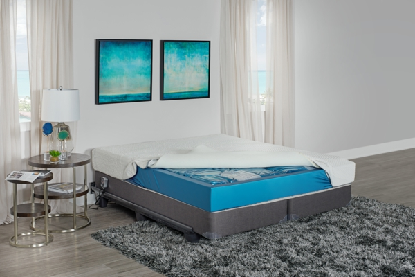 Boxspring Wasserbett modern Schlafzimmer Betten