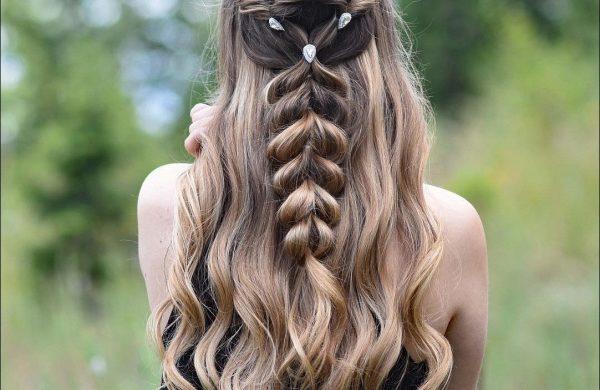 Braids Ideen Haare Frauen Wasserfall Frisur