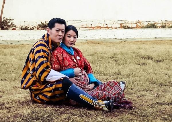 Butan staat köngisfamilie bild