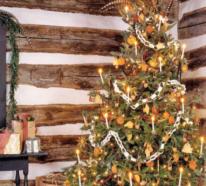 Herrliche Dekoideen, wie Sie Ihren Christbaum traditionell schmücken