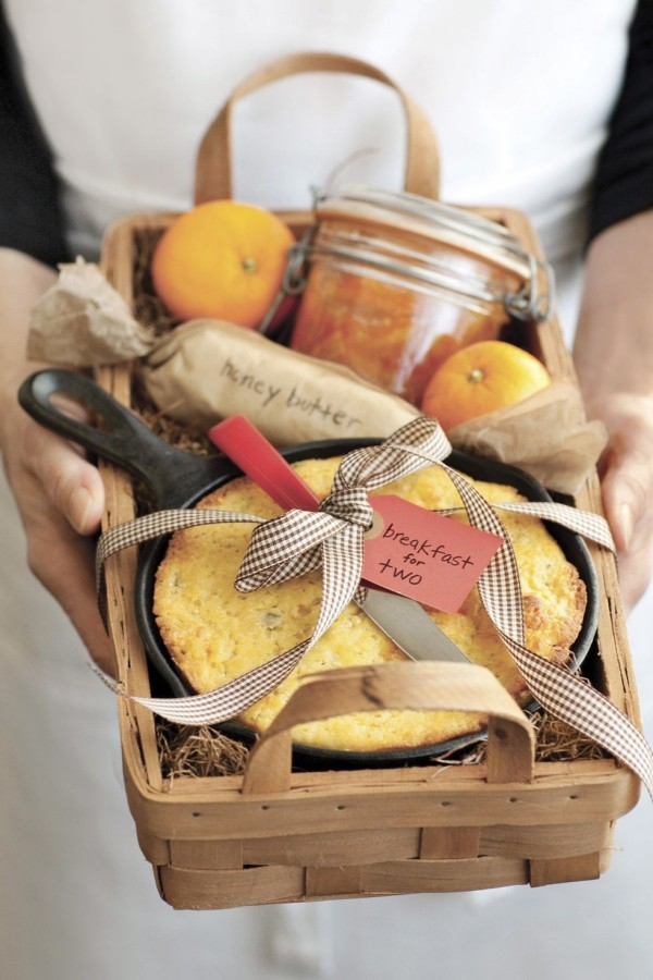 DIY Geschenkkorb Backen Rezepte