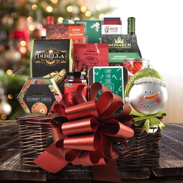 Edle Ideen Weihnachten DIY Geschenkkorb