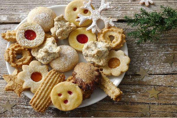 Engelsaugen Plätzchen mit Marmalade backen Adventszeit