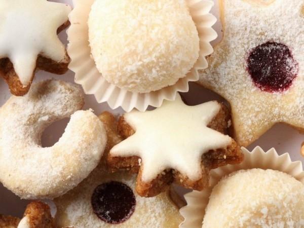 Engelsaugen mit Marmalade Plätzchen backen Weihnachtszeit Adventsgebäck