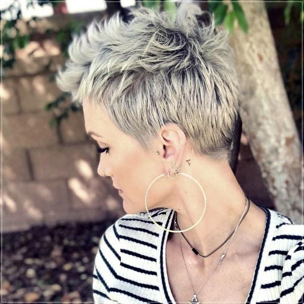 Frisur - Ache - schöne Pixie Frisur