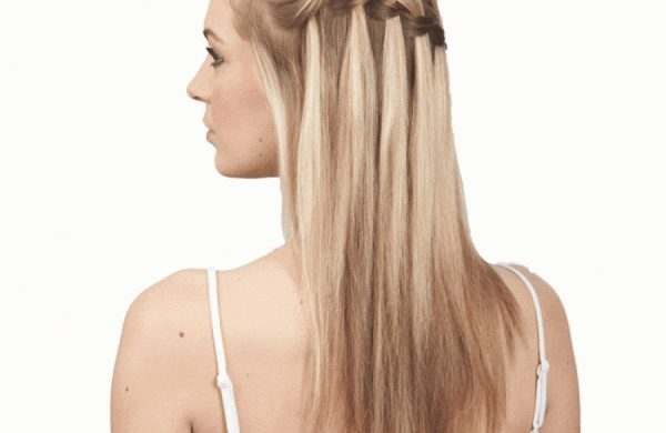 Frisuren für den Sommer - Damen - Wasserfall Frisur