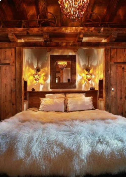 Gemütliches Schlafzimmer im Winter gestalten einladendes Ambiente