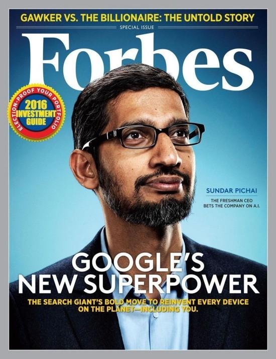 Google Mitbegründer treten zurück und ernennen Sundar Pichai zum Alphabet CEO die neue superpower von google sundar pichai