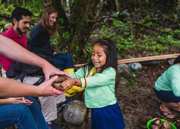 Guayusa Tee zubereiten Tipps Ekuador einheimische Bevölkerung