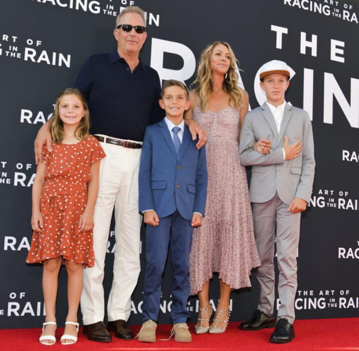 Kevin Costner Christine Baumgartner privates Glück drei gemeinsame Kinder