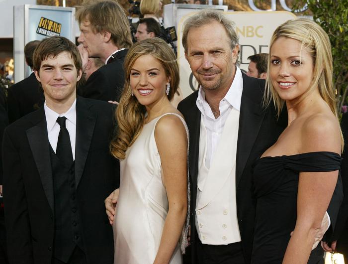 Kevin Costner drei erwachsene Kinder glücklicher Vater