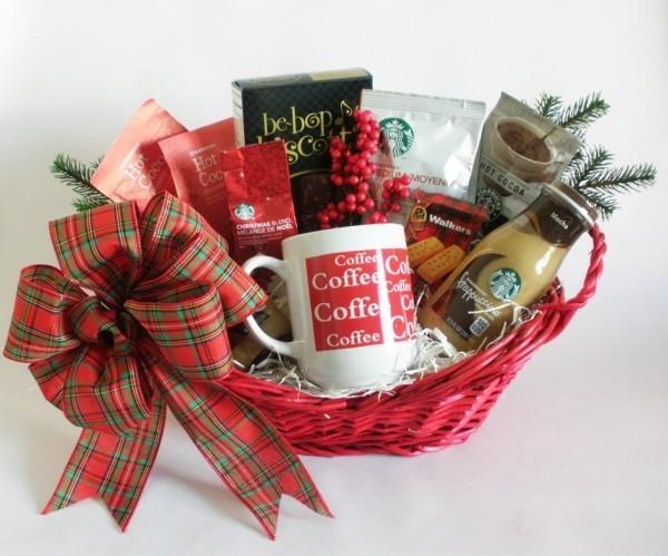 Korb Weihnachten DIY Geschenkkorb