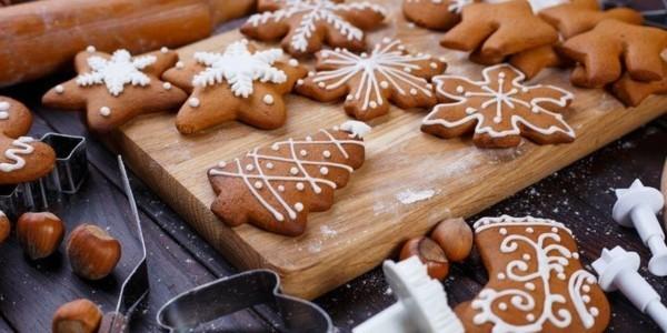 Lebkuchen Plätzchen Lebkuchenrezept Pfefferkuchen zu Weihnachten