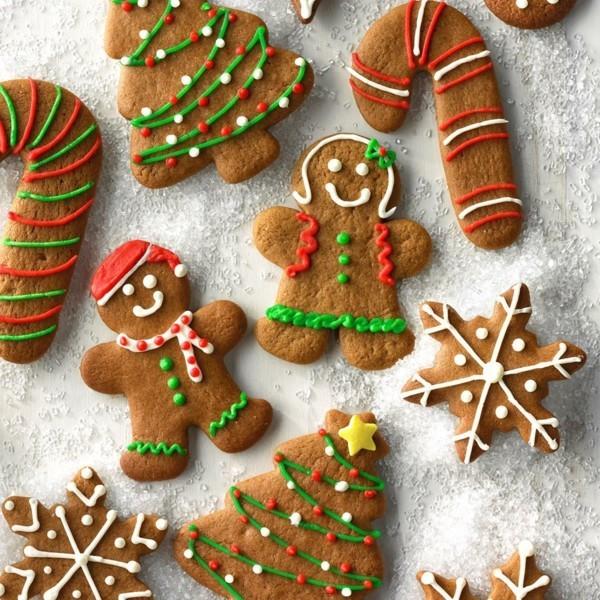 Lebkuchen Plätzchen Weihnachten Lebkuchenmann Rezept leckere Pfefferkuchen