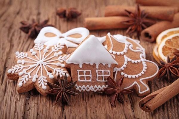 Lebkuchen Plätzchen zu Weihnachten Lebkuchenrezept Pfefferkuchen backen