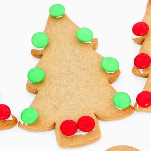 Lebkuchen Plätzchen zu Weihnachten Lebkuchenrezept Pfefferkuchen essbarer Tannenbaum