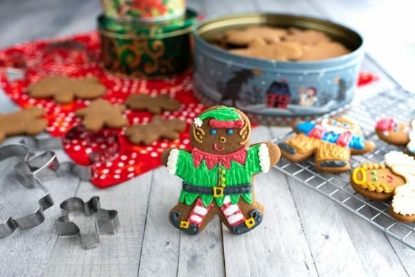 Lebkuchen Plätzchen zu Weihnachten Lebkuchenrezept Pfefferkuchen