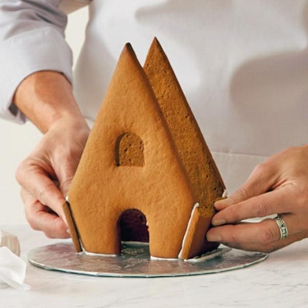 Lebkuchen backen Lebkuchenhaus Lebkuchenrezept Pfefferkuchen