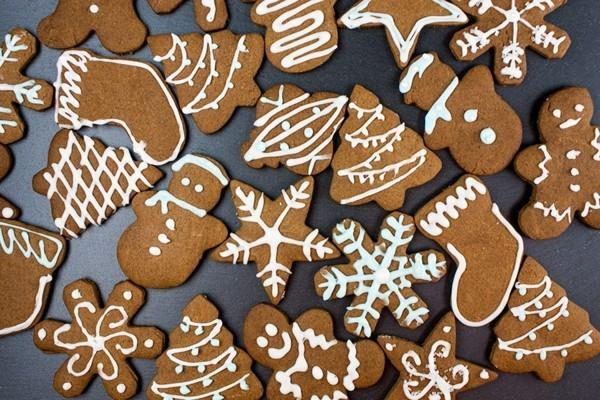 Lebkuchen backen Lebkuchenrezept Pfefferkuchen zu Weihnachten