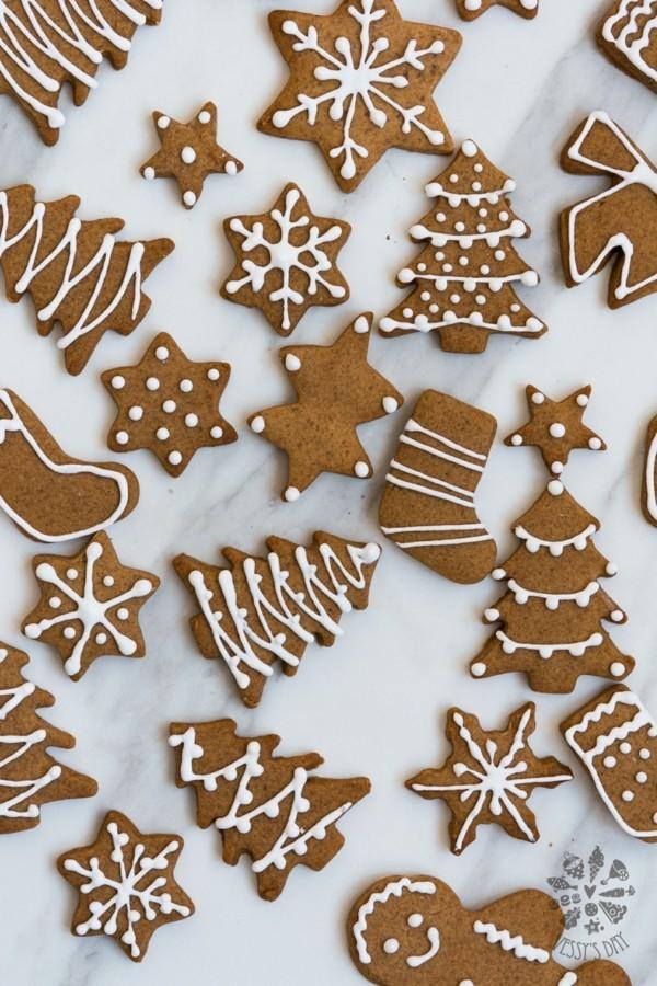 Lebkuchen backen Weihnachtsplätzchen Lebkuchenrezept Pfefferkuchen