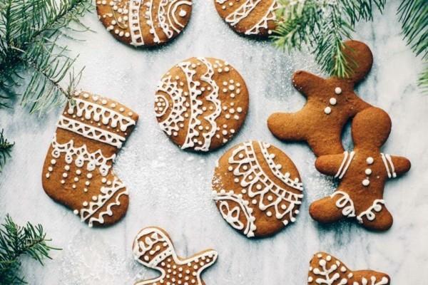 Lebkuchen backen zu Weihnachten Lebkuchenrezept Pfefferkuchen