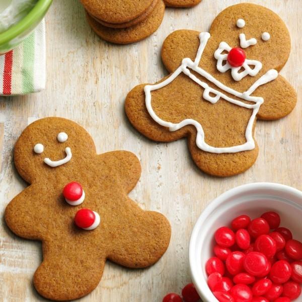 Lebkuchen zu Weihnachten Lebkuchenrezept Pfefferkuchen Männchen