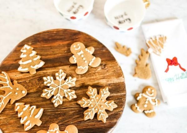 Lebkuchenmann Lebkuchenrezept Pfefferkuchen zu Weihnachten backen