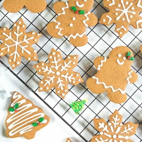 Lebkuchenmann Plätzchen Lebkuchenrezept Pfefferkuchen Weihnachtssüßigkeiten