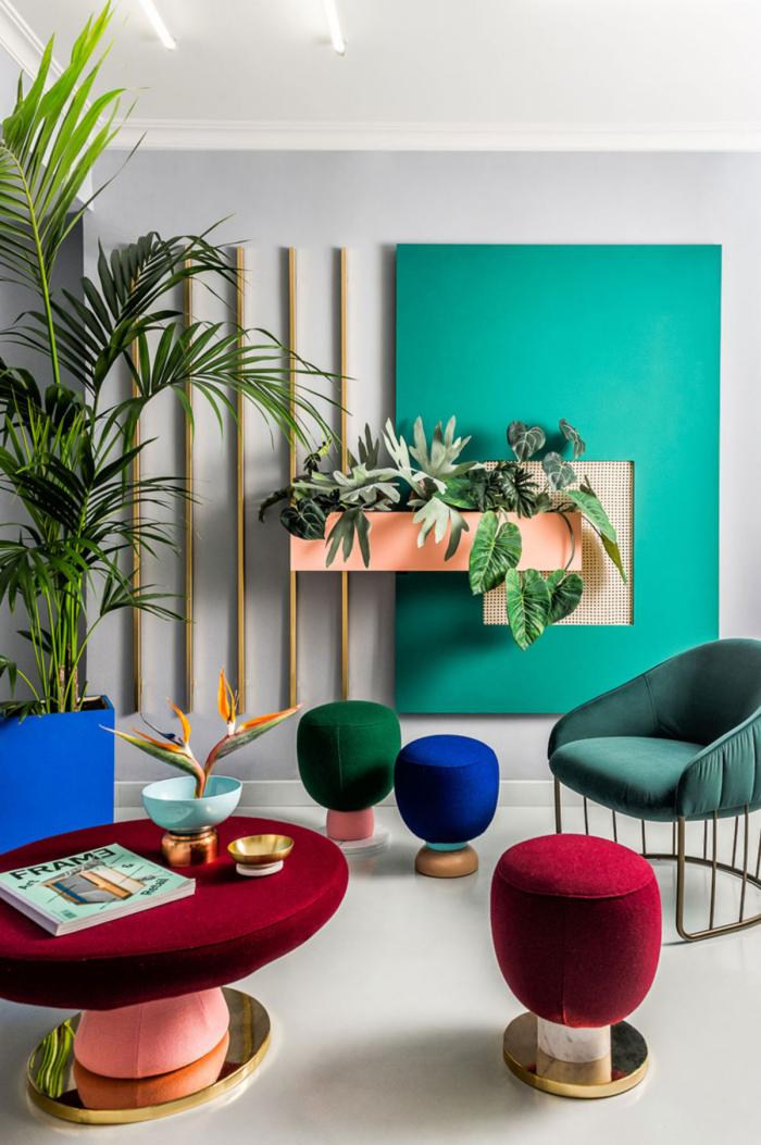 Mehr Farbe im Interieur