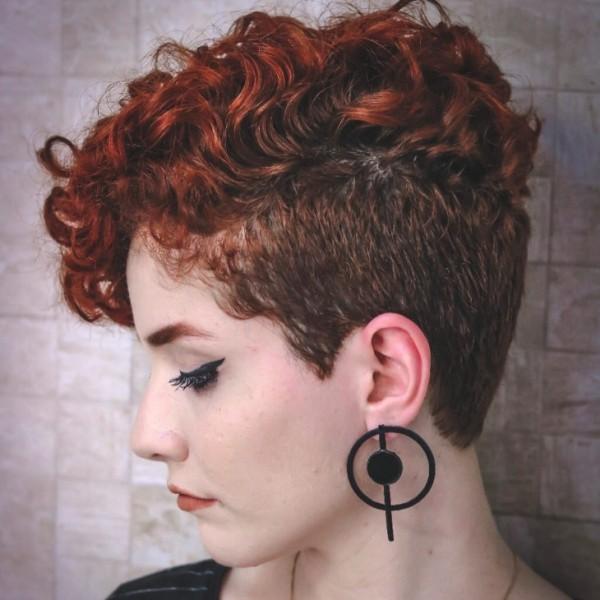 Pixie Frisur Frisuren Trends Locken