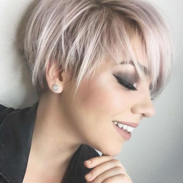 Pixie Frisur - schöne Damen - schöne Frisuren