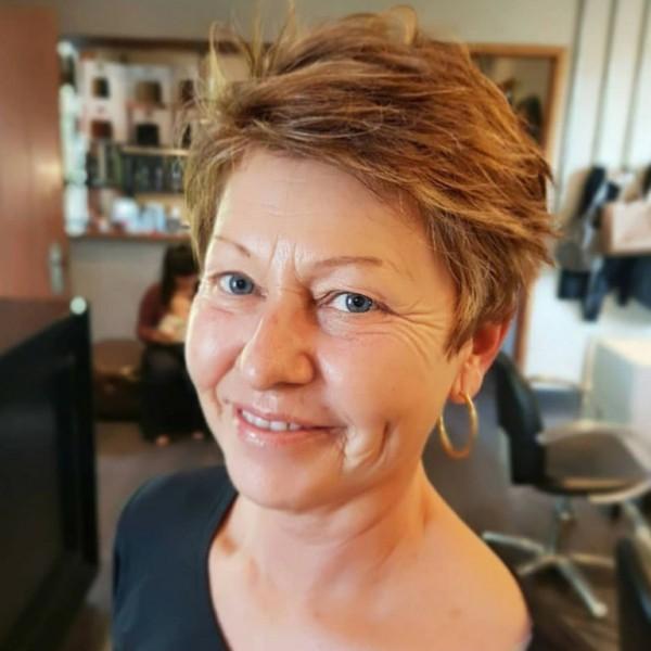 Pixie Frisur schöne Damenfrisuren Trends