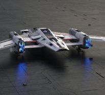Porsche und Lucasfilm entwerfen ein Star Wars Raumschiff