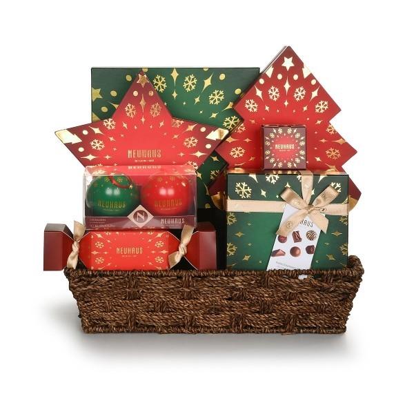 Präsentkorb weihnachten Weihnachten Dekoideen