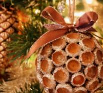 Rustikale Weihnachtsdeko Ideen – bezaubernd schön und leicht nachzumachen