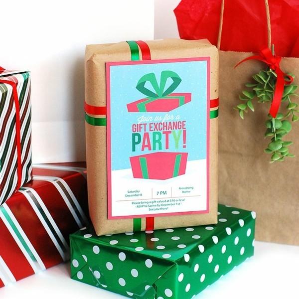 Schrottwichteln regeln Weihnachtsparty Geschenkaustausch witzige Schrottgeschenke verpacken