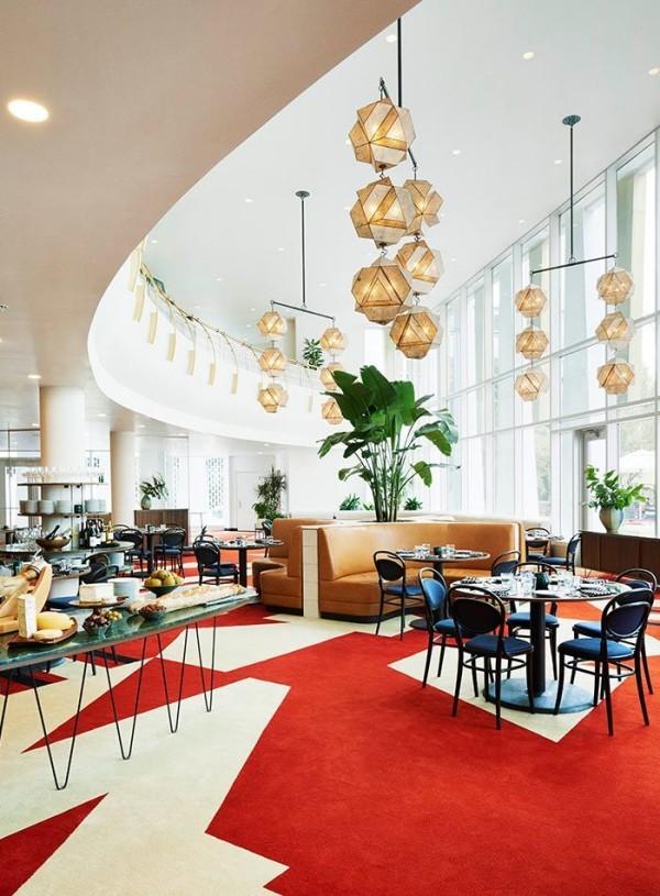 So können Sie Ihren eigenen Teppichboden verlegen cafe restaurant mit modernen tepich