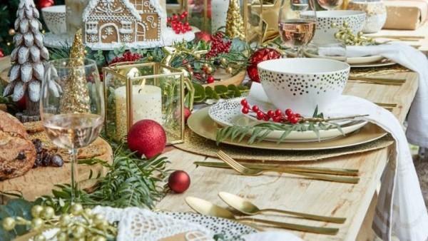 Tisch Deko Weihnachten Ideen Adventskaffee