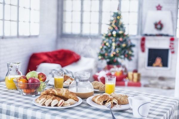 Tischgestaltung für weihnachten Adventskaffee