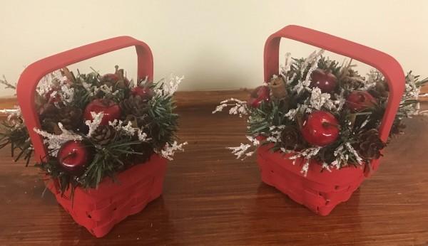 Toller Geschenkkorb für Weihnachten DIY Geschenkkorb