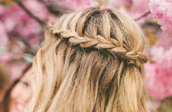 Wasserfall Frisur Anleitung Haare flechten