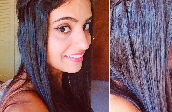Wasserfall Frisur dünnes langes Haar frisuren