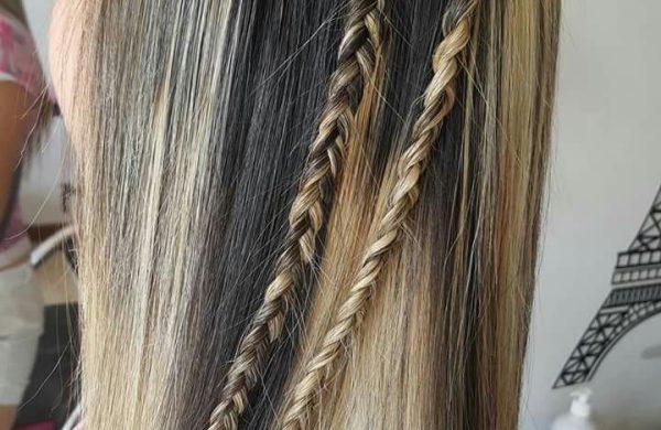 Wasserfall Frisur - tolle Haarschnitte für Damen mit Zöpfen