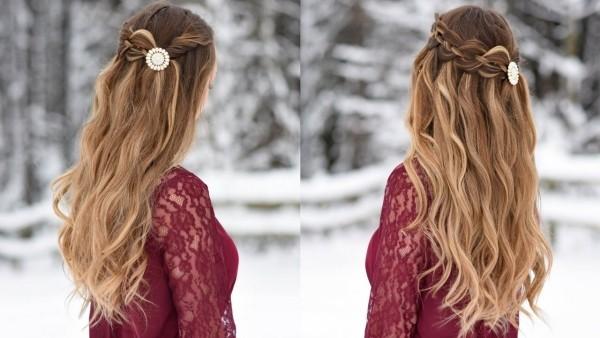 Wasserfall Frisur - tolle Haarschnitte für Damen