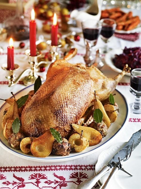 Weihnachtsgans Rezept klassisch deutsche Tradition